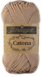 Scheepjes Catona 50 – Caramel 506 | Katoen Garen