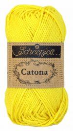 Scheepjes Catona 50 – Lemon 280 | Katoen Garen