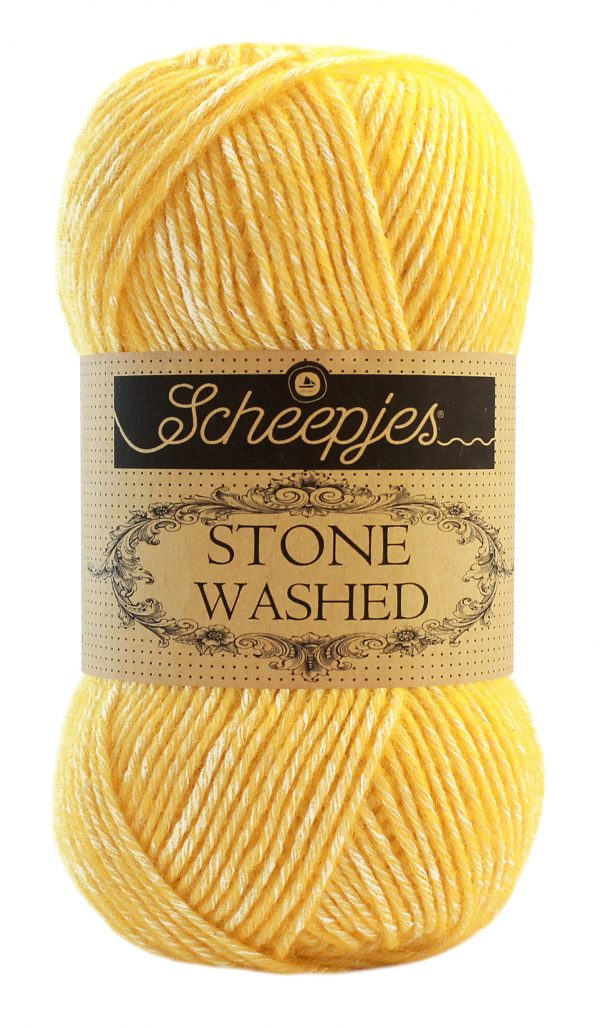 Stone Washed – 833 Geel