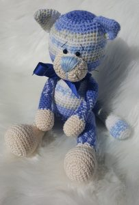 Cat Murzik Haakpakket Blauw | Garenhuis U Keus