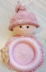 Haakpakket Baby foto lijstje Rose | Sapie van Schepen