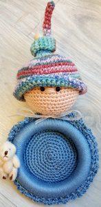 Haakpakket Baby foto lijstje Blauw | Sapie van Schepen