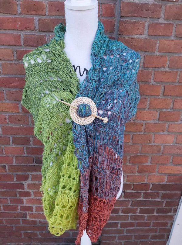 Workshop STOKHAKEN zomer sjaal