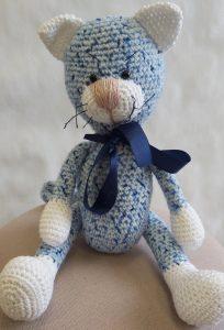 Cat Murzik haakpakket Baby Blauw