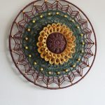 Funny Mandala Sunflower LARGE