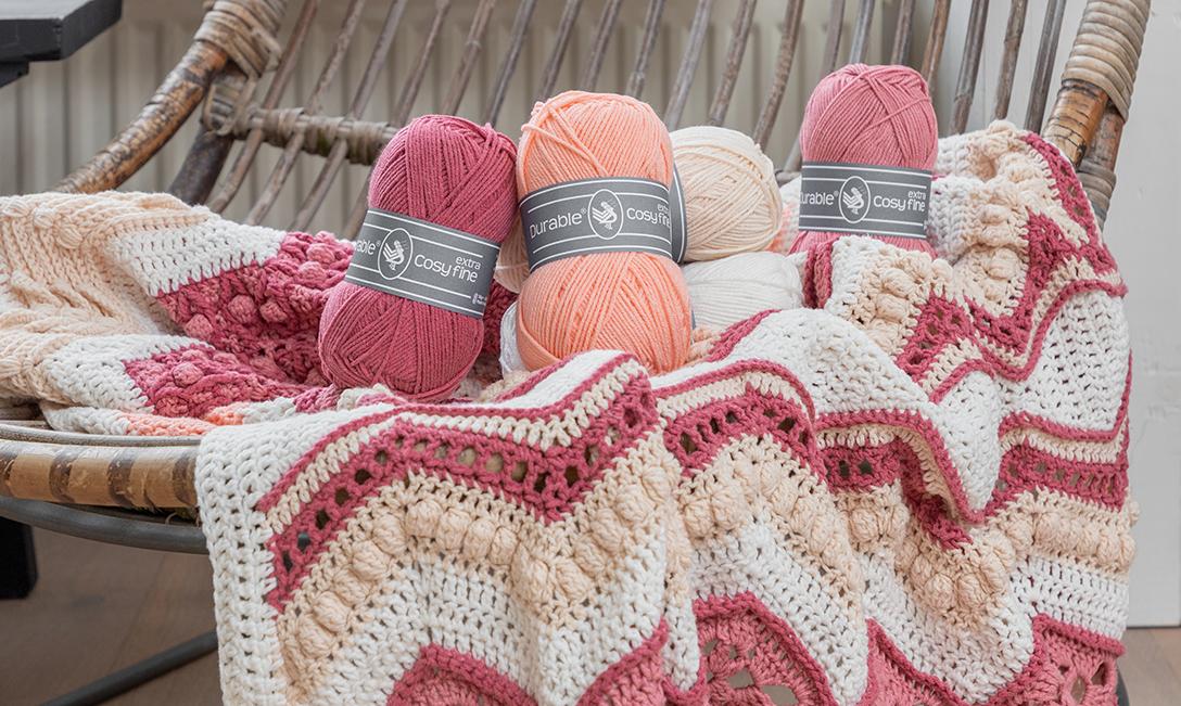 Crochet Along 2021 – Ups 'n Downs Pink Beach