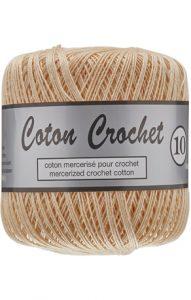 Lammy Yarns Coton Crochet 10 Huidkleur 218